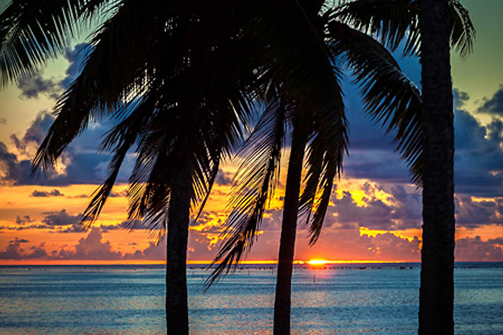 (Amuri Beach, Aitutaki - Cook Islands)