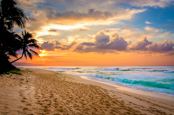(Sunset Beach, North Shore of Oahu - Hawaii)