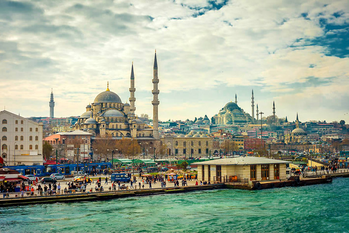 (Eminönü District, Istanbul - Turkey)