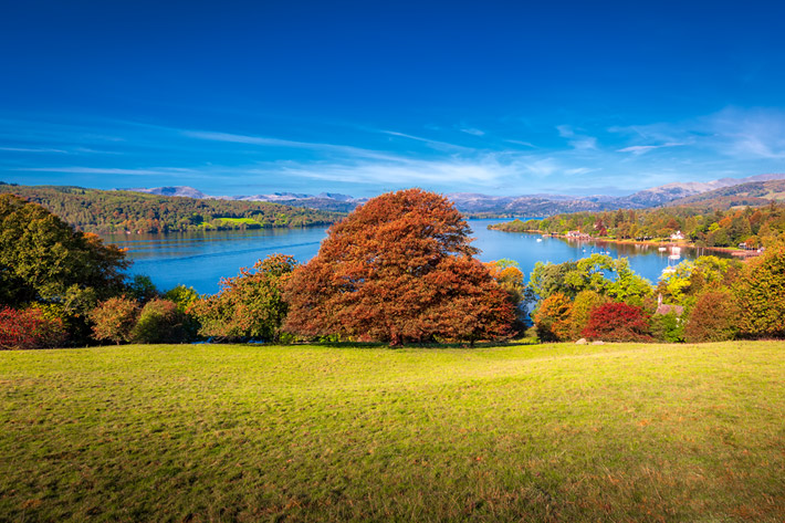 (Windermere, Lake District National Park - England)