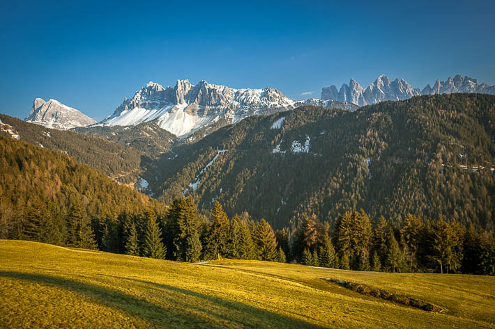 (View from Passo delle Erbe, South Tyrol - Italy)