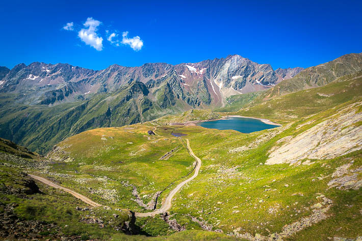 (Stelvio National Park, Gavia Pass, Italy)